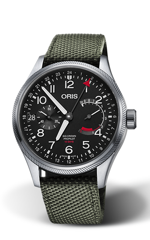 Oris Calibre 114 Watch 01 114 7746 4164-SET 5 22 14FC product image