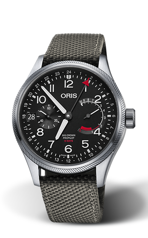 Oris Calibre 114 Watch 01 114 7746 4164-SET 5 22 17FC product image