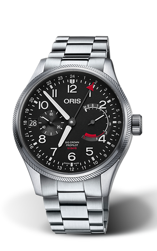 Oris Calibre 114 Watch 01 114 7746 4164-SET 8 22 19 product image