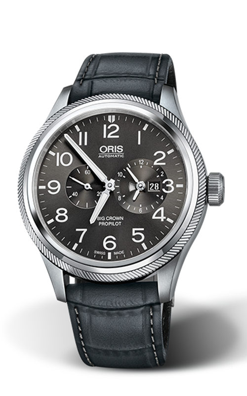 Oris Aviation Big Crown ProPilot Worldtimer Watch 01 690 7735 4063-07 5 22 06FC product image