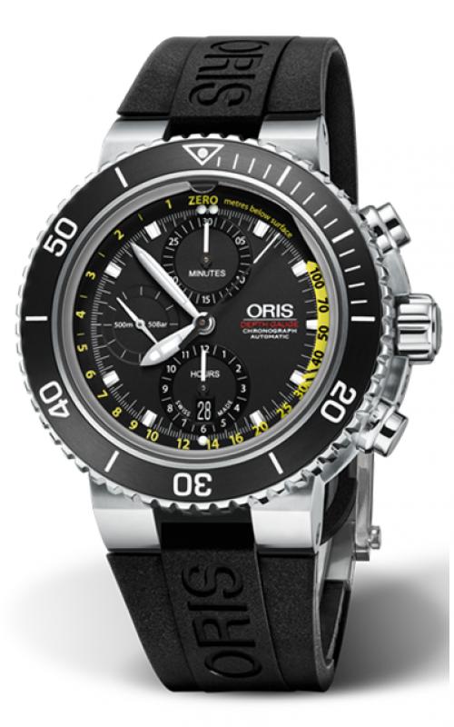 Oris Aquis Depth Gauge Watch 01 774 7708 4154-Set RS product image