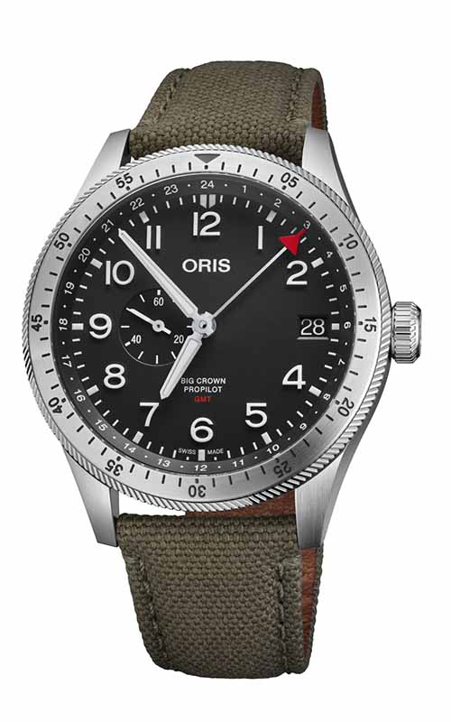 Oris Timer GMT Watch 01 748 7756 4064-07 3 22 02LC product image
