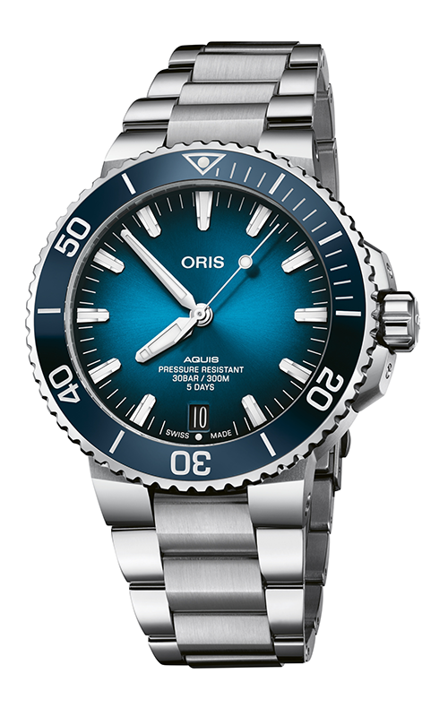 Oris Aquis Date Calibre 400 Watch 01 400 7763 4135-07 8 24 09PEB product image