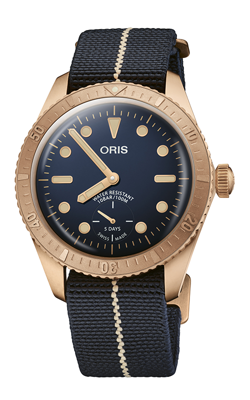 Oris Carl Brashear Calibre 401 Limited Edition Watch 01 401 7764 3185-Set product image