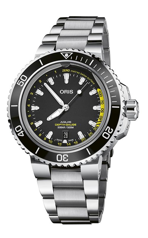 Oris Aquis Depth Gauge Watch 01 733 7755 4154-Set MB product image
