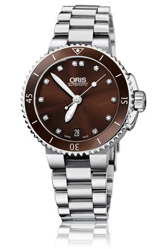 Oris Aquis Date Diamonds 01 733 7652 4192-07 8 18 01P product image