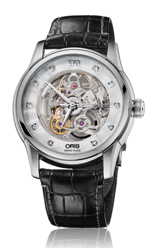 Oris Artelier Skeleton Diamonds 01 734 7670 4019-07 1 21 73FC product image