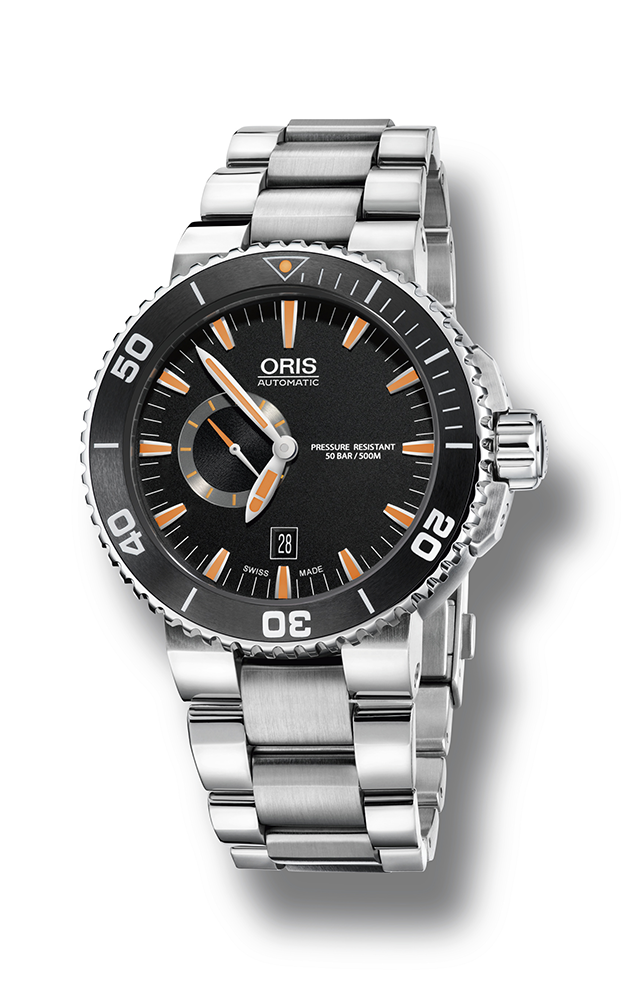 Oris Aquis Small Second, Date 01 743 7673 4159-07 8 26 01PEB product image