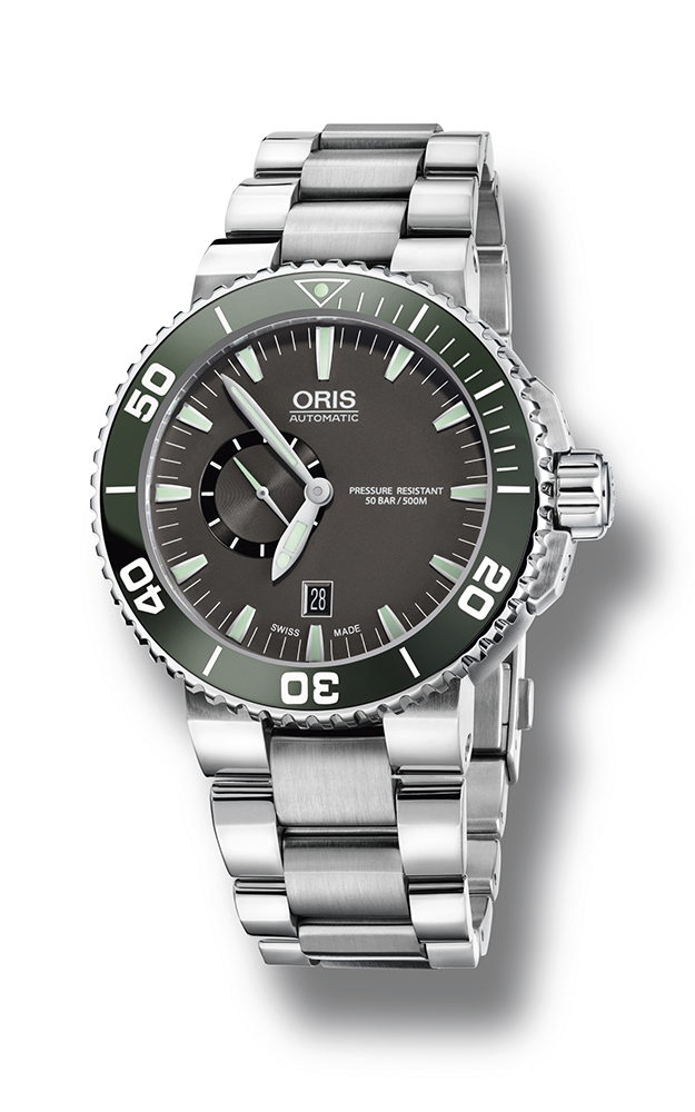 Oris Aquis Small Second, Date 01 743 7673 4137-07 8 26 01PEB product image