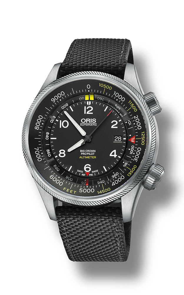 Oris Altimeter with Feet Scale 01 733 7705 4134-07 5 23 15FC product image