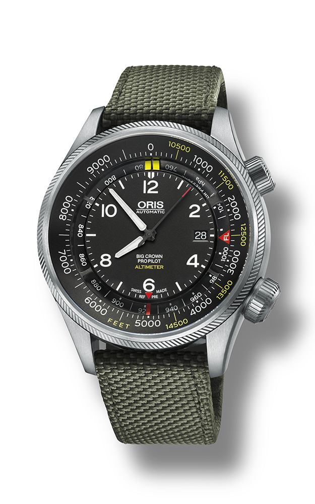 Oris Altimeter with Feet Scale 01 733 7705 4134-07 5 23 14FC product image