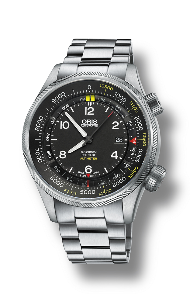 Oris Altimeter with Feet Scale 01 733 7705 4134-07 8 23 19 product image