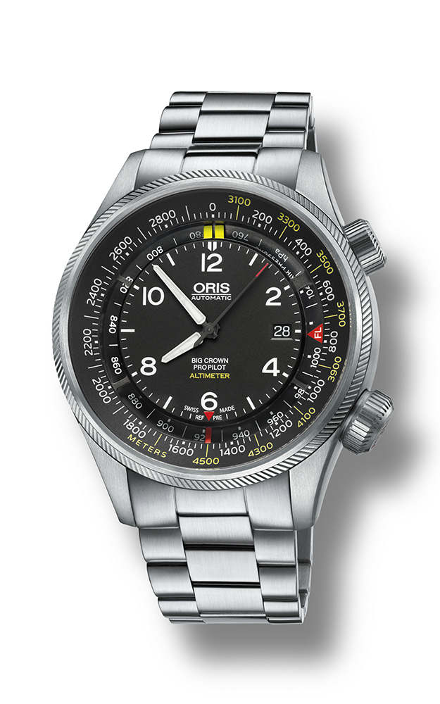Oris Altimeter with Meter Scale 01 733 7705 4164-07 8 23 19 product image