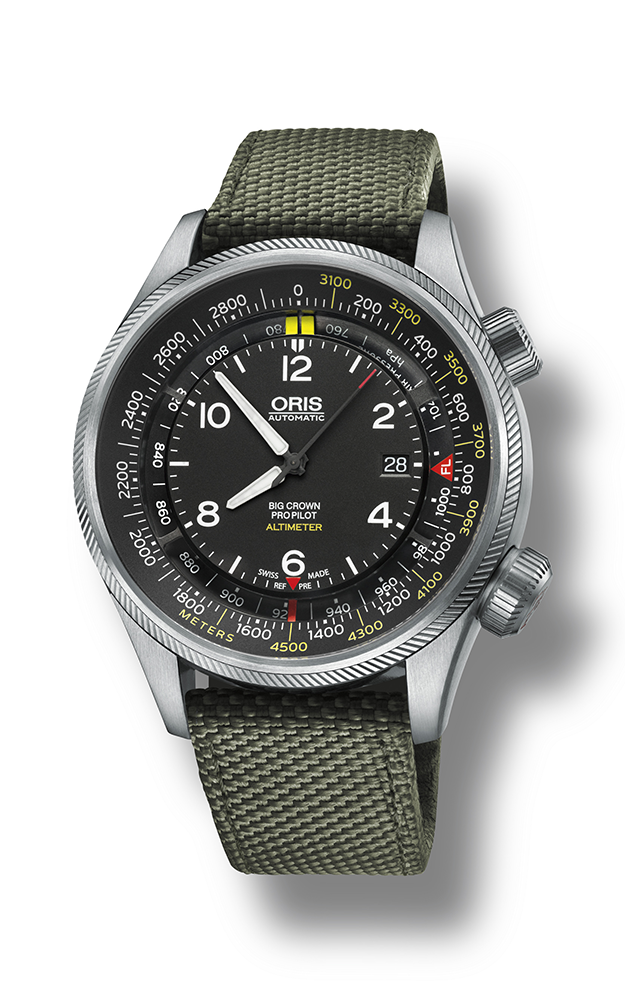 Oris Altimeter with Meter Scale 01 733 7705 4164-07 5 23 14FC product image