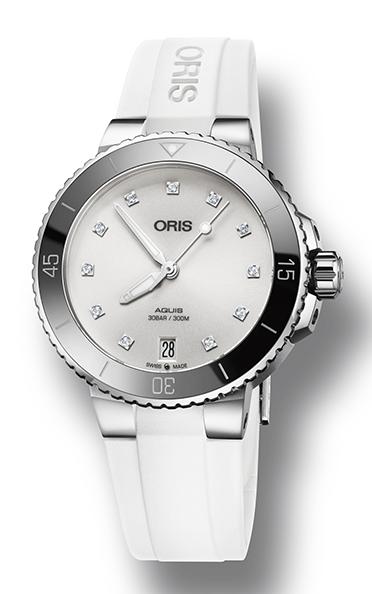Oris Aquis Date Diamonds 01 733 7731 4191-07 4 18 63FC product image