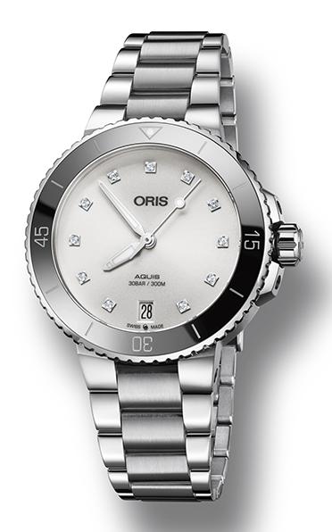 Oris Aquis Date Diamonds 01 733 7731 4191-07 8 18 05P product image