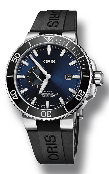 Oris Aquis Small Second, Date 01 743 7733 4135-07 4 24 64EB product image