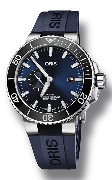 Oris Aquis Small Second, Date 01 743 7733 4135-07 4 24 65EB product image