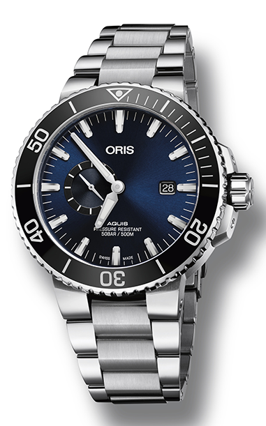 Oris Aquis Small Second, Date 01 743 7733 4135-07 8 24 05PEB product image
