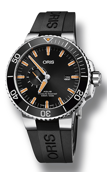Oris Aquis Small Second, Date 01 743 7733 4159-07 4 24 64EB product image