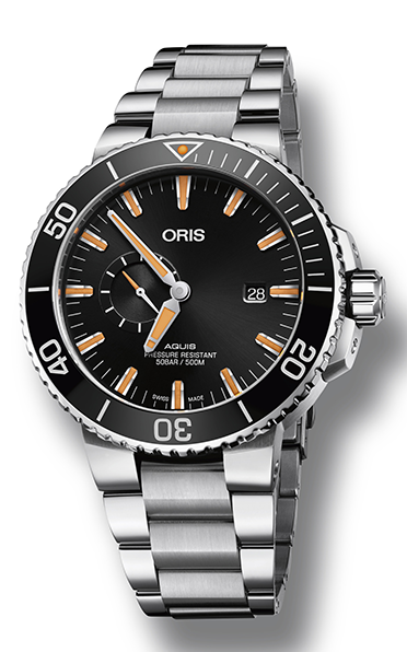 Oris Aquis Small Second, Date 01 743 7733 4159-07 8 24 05PEB product image