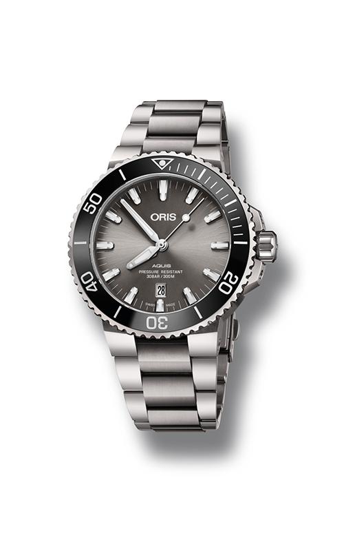 Oris Aquis Titanium Date  01 733 7730 7153-07 8 24 15PEB product image