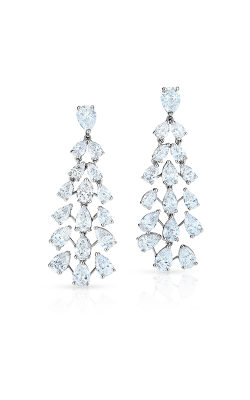 Oscar Heyman Platinum Diamond Cascade Earrings 705858 product image