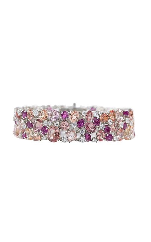 Oscar Heyman Platinum Pink Sapphire Bracelet 804403 product image
