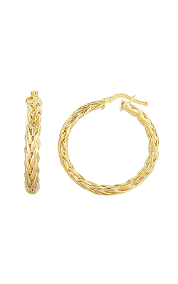 Phillip Gavriel Woven Gold Earring AUER5043 product image