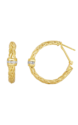 Phillip Gavriel Woven Gold Earring AUER5084 product image