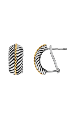 Phillip Gavriel Italian Cable Earring SILER5104 product image