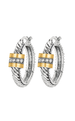 Phillip Gavriel Italian Cable Earring SILE319 product image