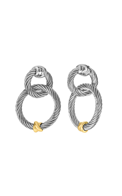 Phillip Gavriel Italian Cable Earring SILER6133 product image