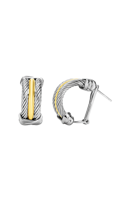 Phillip Gavriel Italian Cable Earring SILER5760 product image