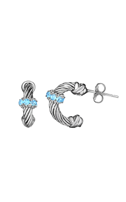 Phillip Gavriel Italian Cable Earrings PGER6410 product image