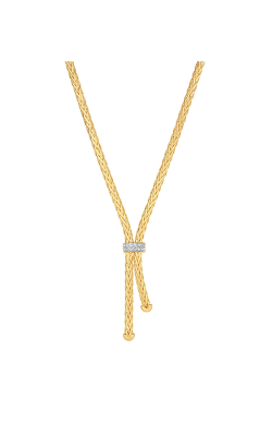 Phillip Gavriel Woven Gold Necklace AUNCK5437-17 product image