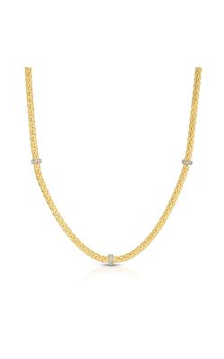 Phillip Gavriel Woven Gold Necklace AUNCK5438-17 product image
