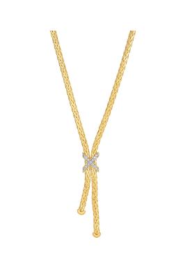 Phillip Gavriel Woven Gold Necklace AUNCK5439-17 product image