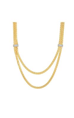 Phillip Gavriel Woven Gold Necklace AUNCK5441-17 product image