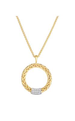 Phillip Gavriel Woven Gold Necklace AUSET2025-16 product image