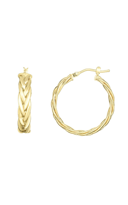 Phillip Gavriel Woven Gold Earring ER7745 product image