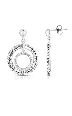 Phillip Gavriel Woven Silver Earring PGER7336 product image