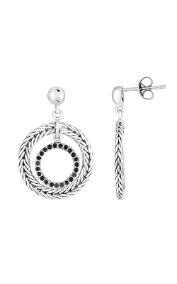 Phillip Gavriel Woven Silver Earring PGER8179 product image