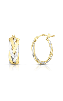 Phillip Gavriel Woven Gold Earring YWER7721 product image