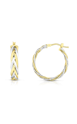 Phillip Gavriel Woven Gold Earring YWER7745 product image
