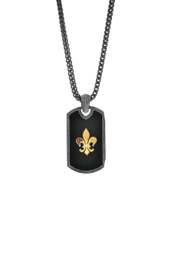 Phillip Gavriel Fleur De Lis Necklace SILP6198-22 product image