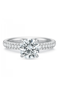 Precision Set Modern Classic Engagement Ring 218918w product image
