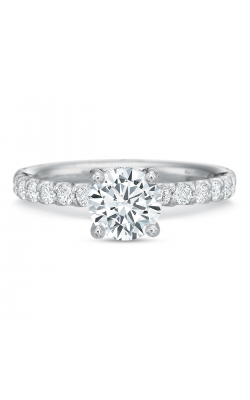 Precision Set Modern Classic Engagement Ring 635218w product image