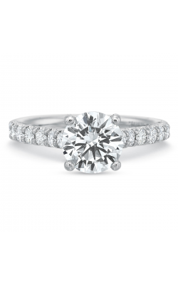 Precision Set Shared Prong Engagement Ring 617418w product image
