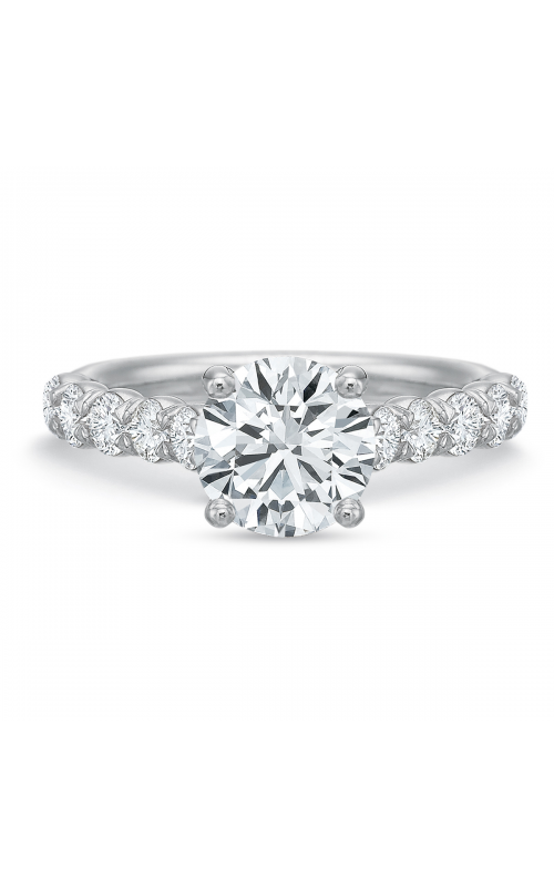 Precision Set FlushFit Engagement ring 774918w product image